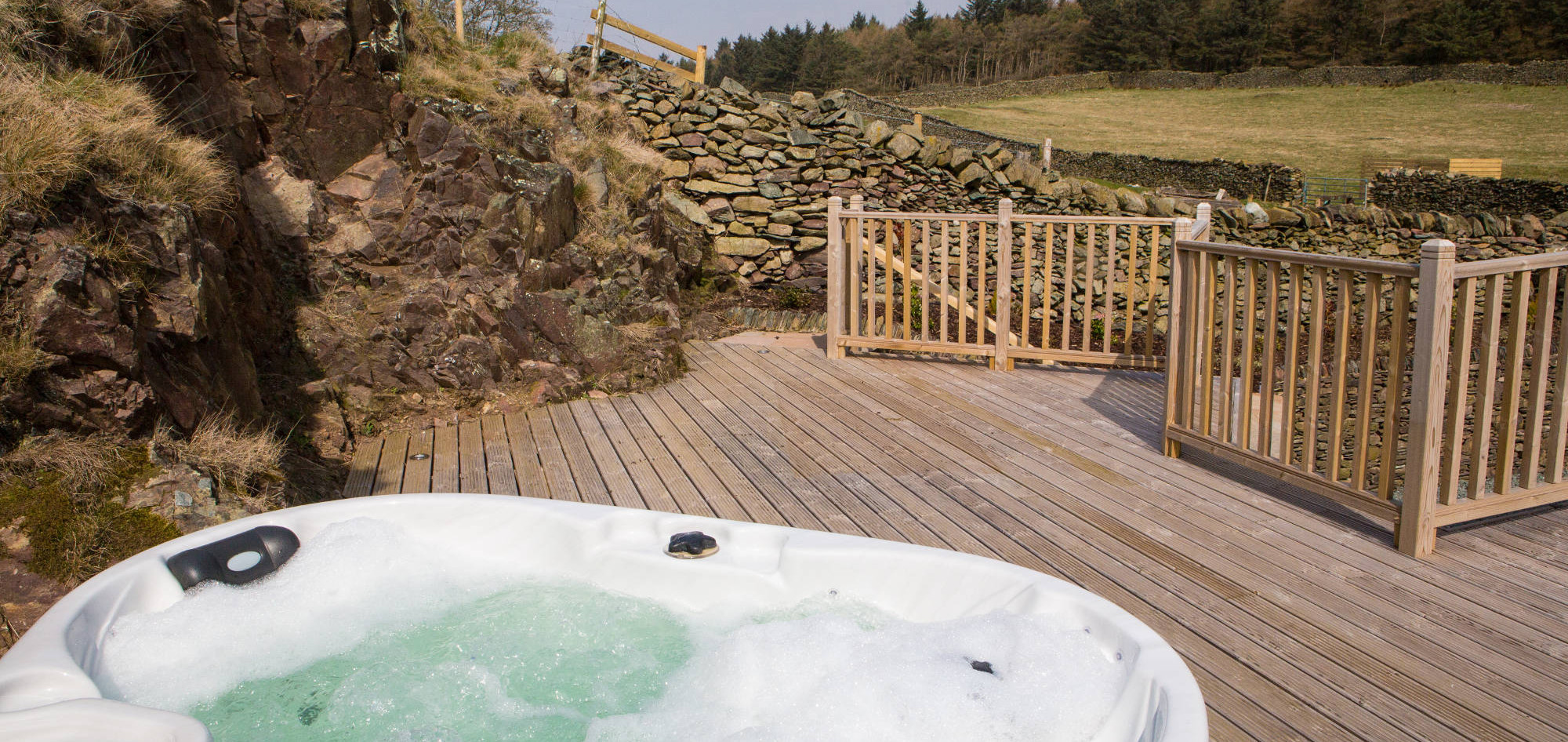 hot tub - High Lowscales, Lake District